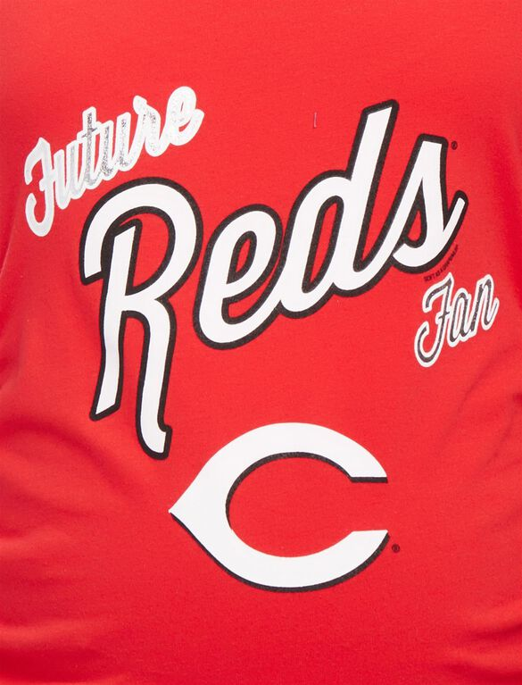 Cincinnati Reds MLB Future Fan Maternity Tank, Reds Red