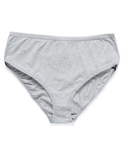 Plus Size Maternity Hi-cut Panties (single), Grey