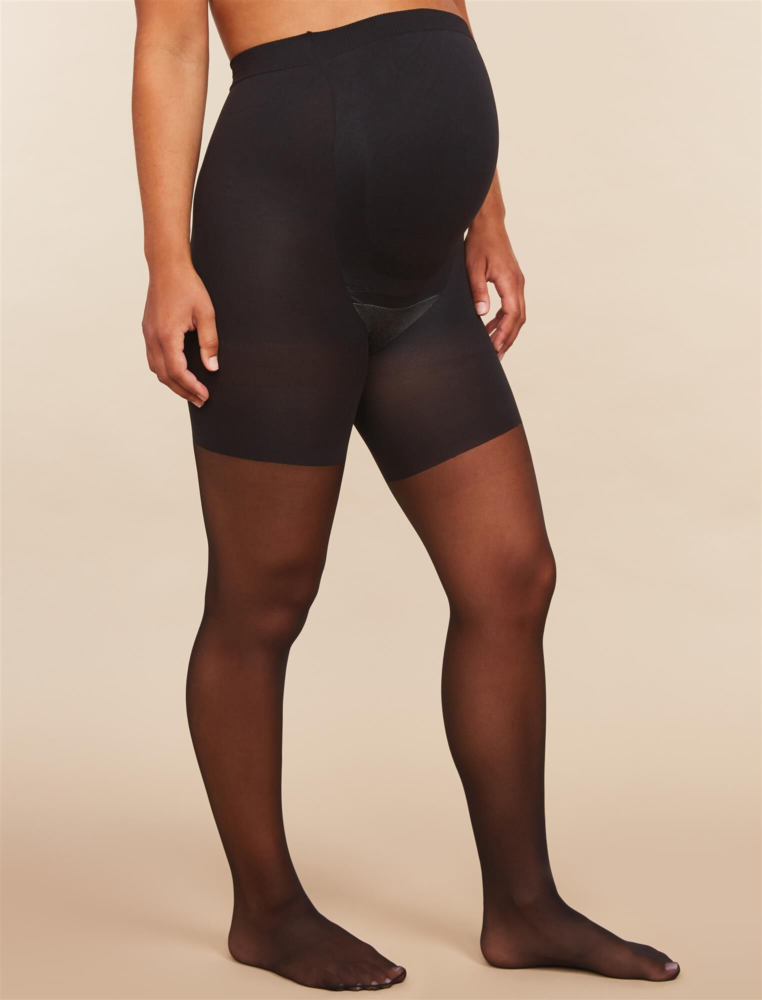 Assests By Sara Blakely Sheer Maternity Pantyhose