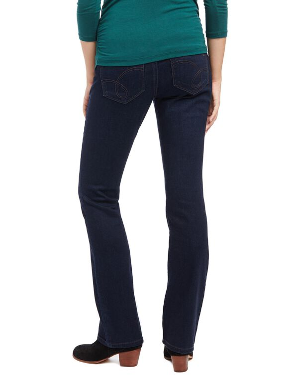 Jessica Simpson Secret Fit Belly Skinny Boot Maternity Jeans, Dark Wash