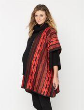 Super Soft Wool Maternity Jacket, Print