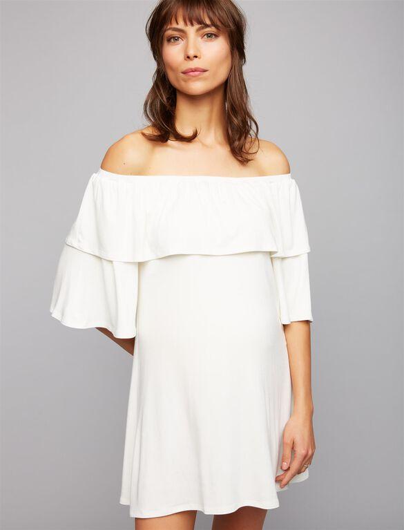 Rachel Pally Kylian Maternity Dress, White