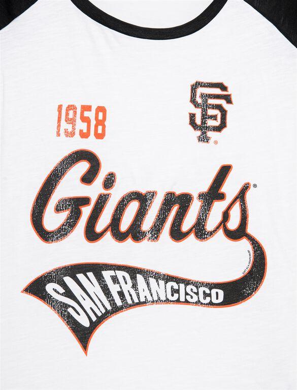 San Francisco Giants MLB Raglan Sleeve Maternity Tee, Giants