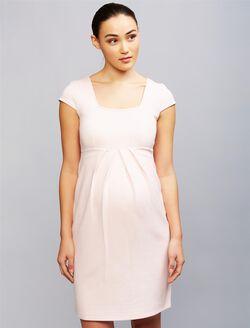 Isabella Oliver Farah Ponte Maternity Dress, Pink