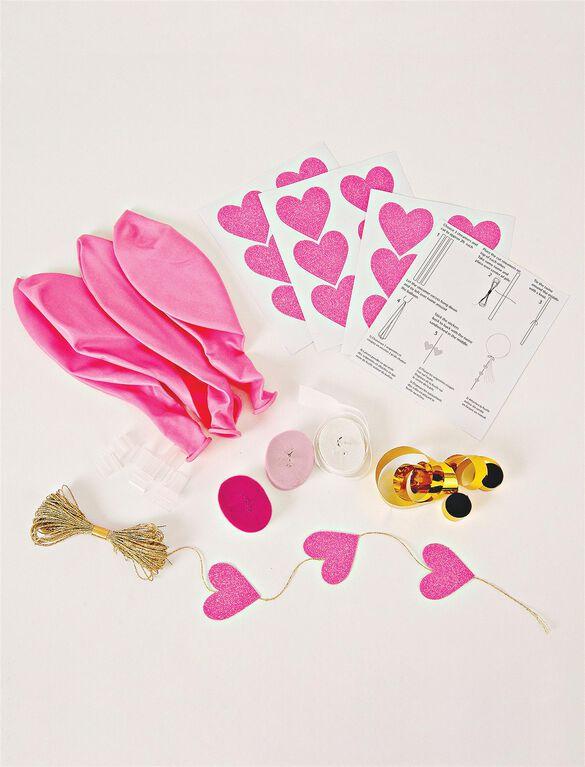 Meri Meri Toot Sweet Beautiful Balloon Kit., Pink