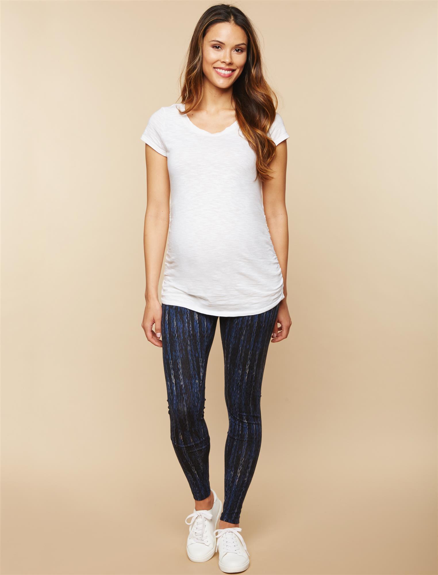 Secret Fit Belly Printed Maternity Leggings