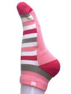 Tootsies Ankle Maternity Compression Socks, Pink