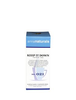 Anna Naturals Tea, Keep It Down