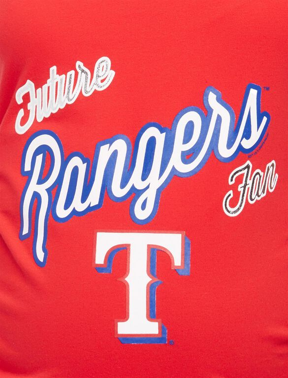 Texas Rangers MLB Future Fan Maternity Tank, Rangers Red