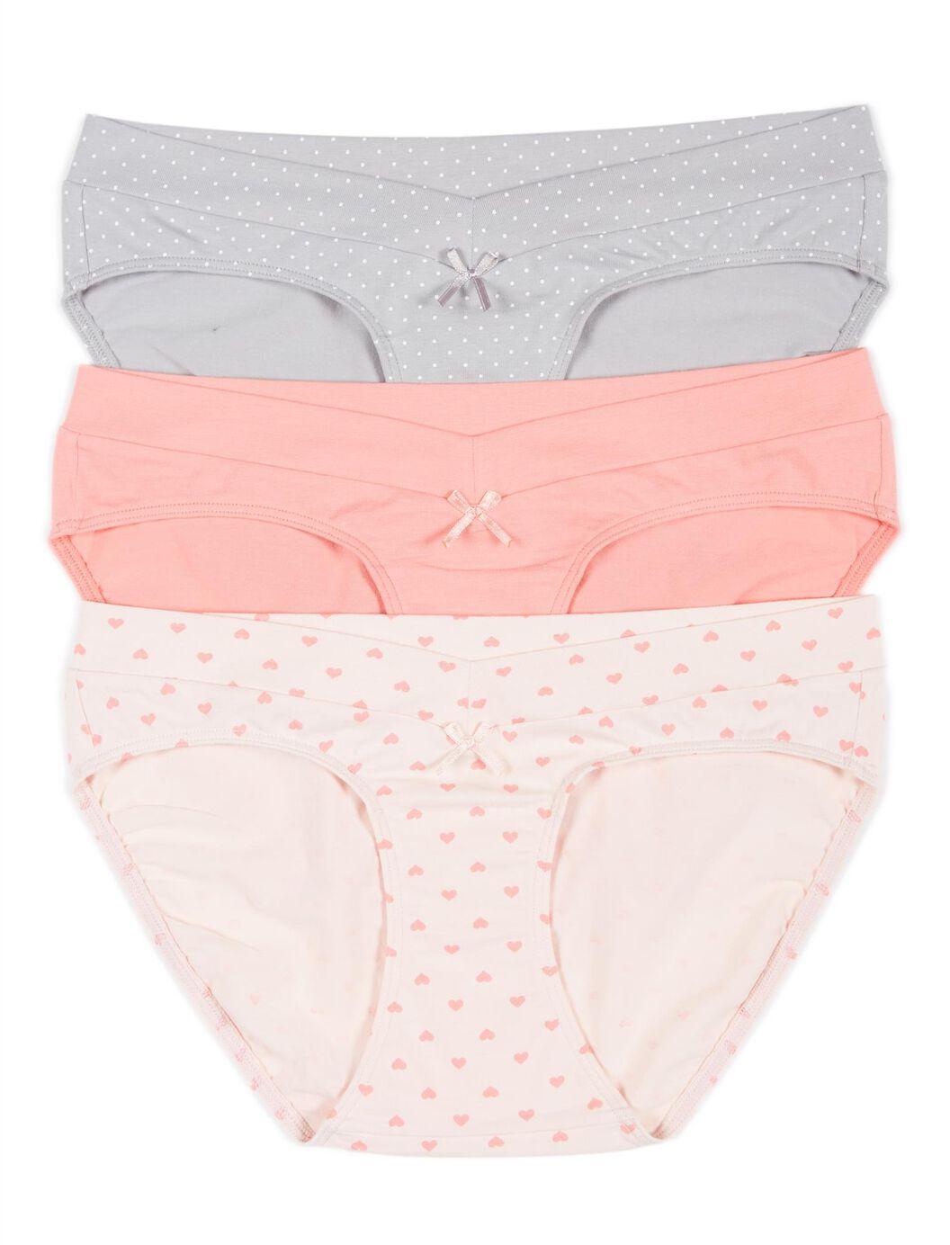 Maternity Hipster Panties (3 Pack)- Dot/Heart at Motherhood Maternity in Victor, NY   Tuggl