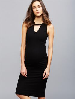 Sen Hampton Maternity Dress, Black