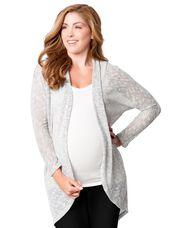 Cocoon Hacci Maternity Cardigan, Grey