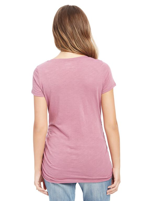 The Snuggle Is Real Maternity Tee, Purple