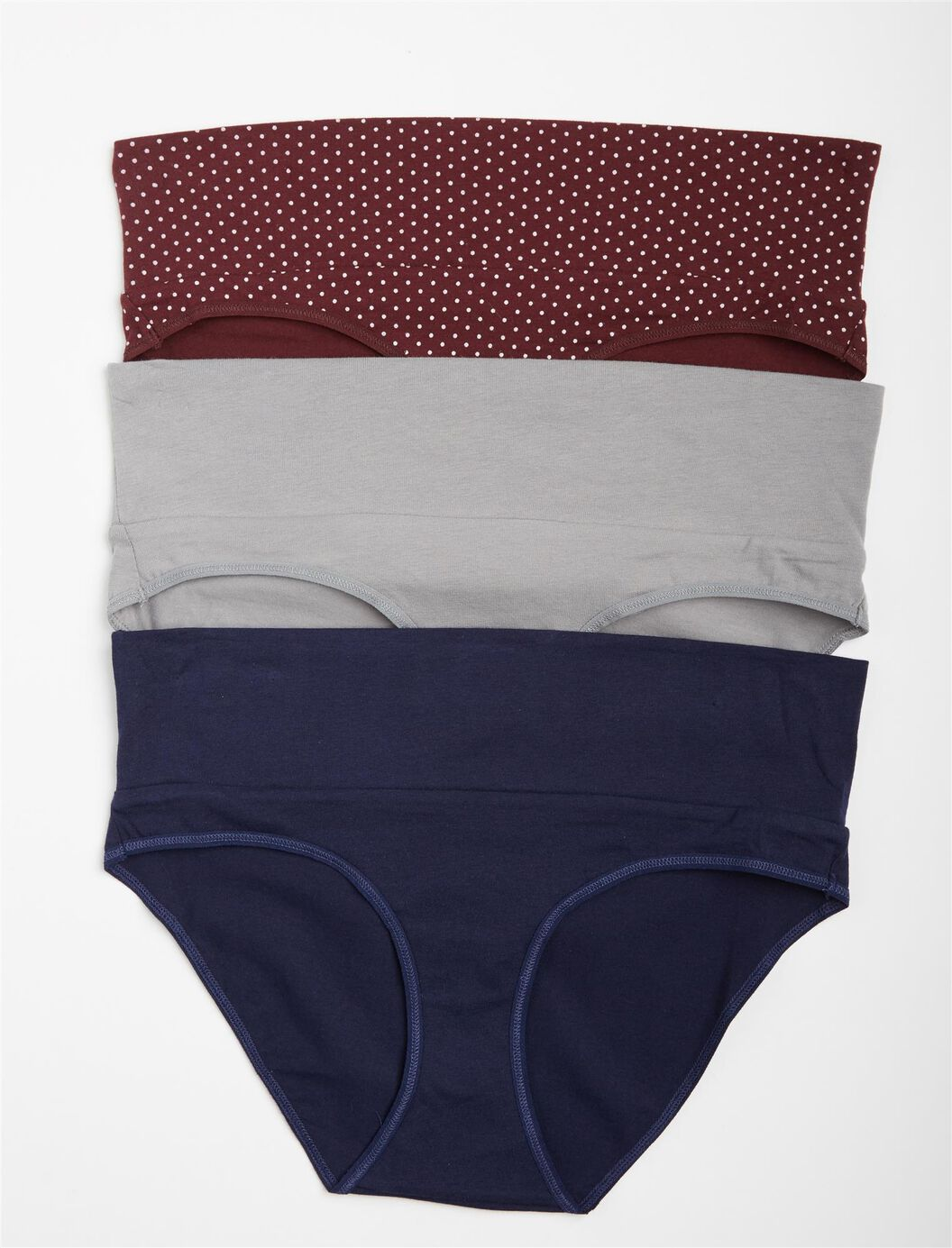 Maternity Fold Over Panties (3 Pack) at Motherhood Maternity in Victor, NY | Tuggl