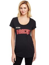 Arizona Diamondbacks MLB You're Out Maternity Tee, Diamond Backs Black