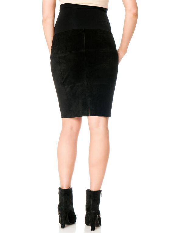 Bailey 44 Secret Fit Belly Pencil Fit Maternity Skirt, Black