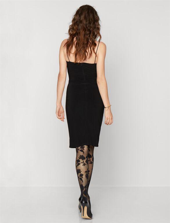 Maternity Dress, Black
