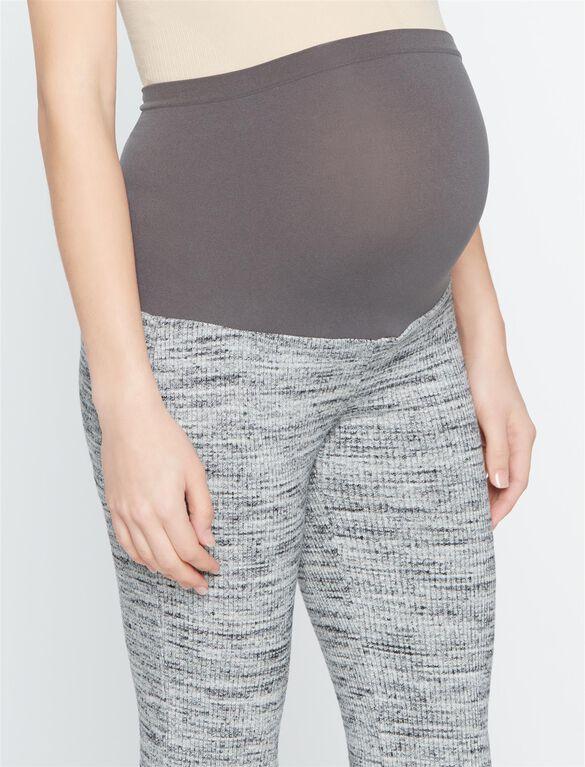 Splendid Secret Fit Belly Boot Cut Maternity Pants, Heather Grey