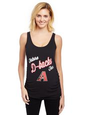 Arizona Diamondbacks MLB Future Fan Maternity Tank, Diamond Backs Black