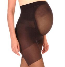 Mama Spanx Full Length Hose, Black
