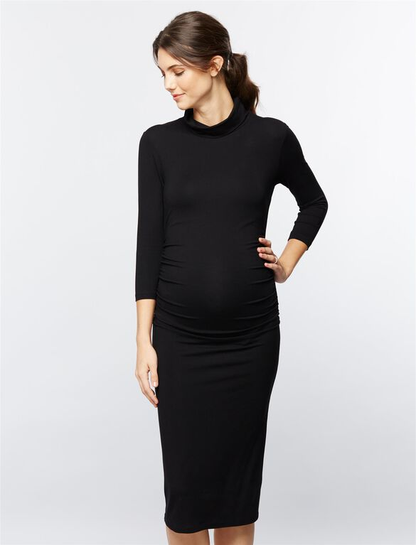 Isabella Oliver Greyson Maternity Dress, Black