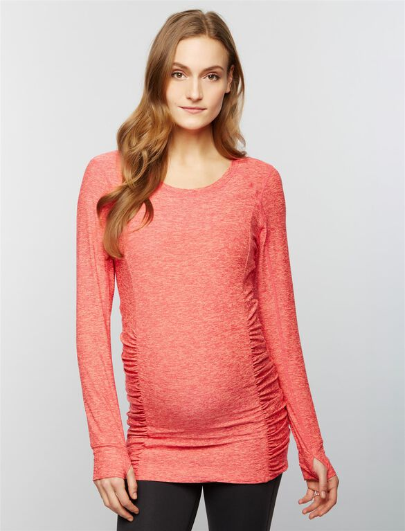 Beyond The Bump Super Soft Maternity Top, Sunset Rose