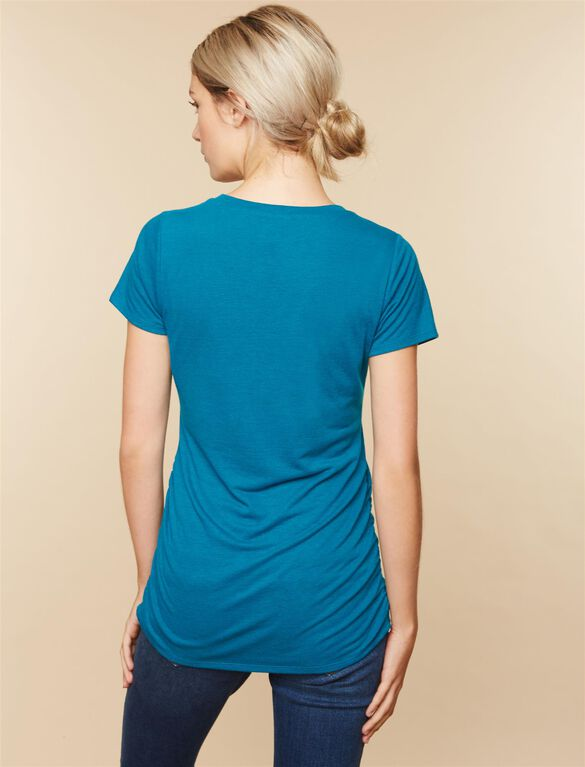 Look at This Bump Maternity Tee, Teal
