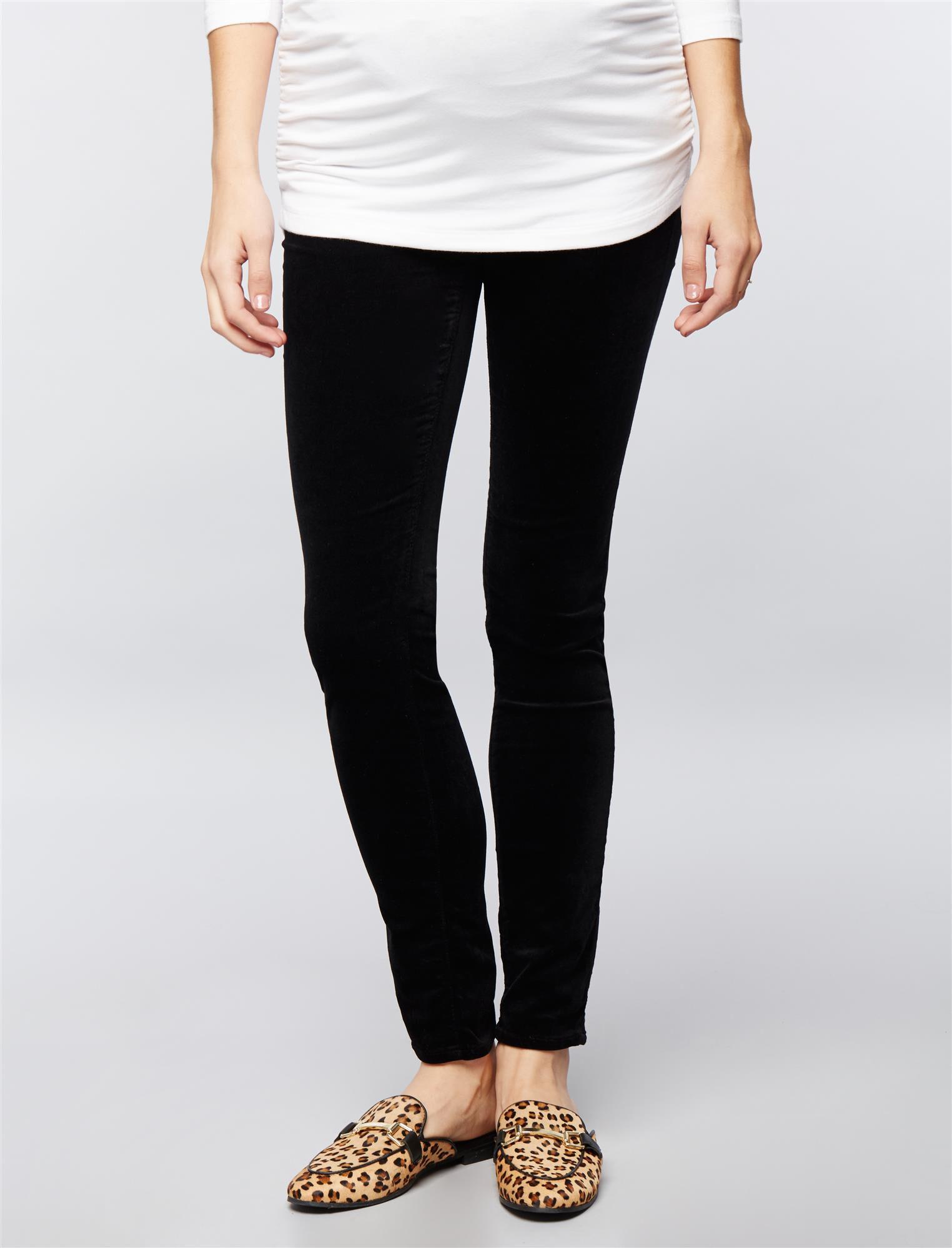 AG Jeans Secret Fit Belly Velveteen Maternity Skinny Pants