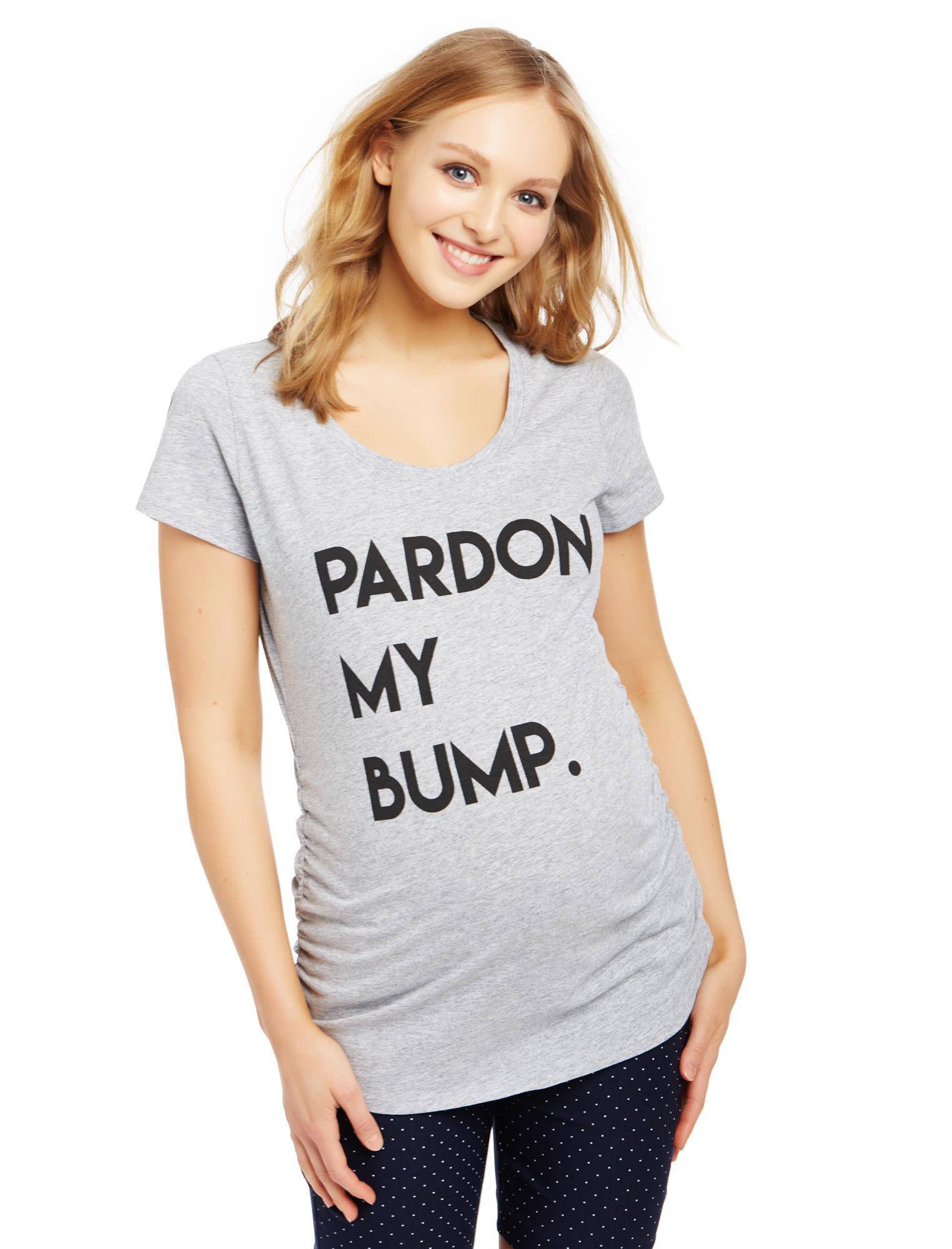 Pardon My Bump Maternity Tee
