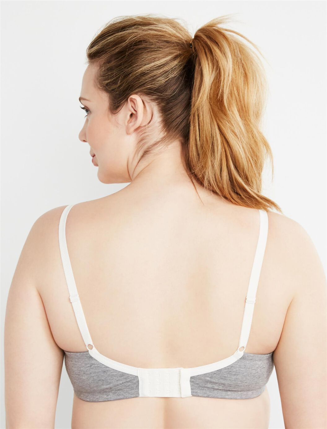 Full Coverage T Shirt Nursing Bra Destination Maternity