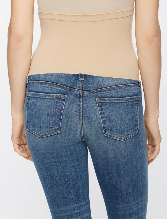 J Brand Secret Fit Belly Boot Cut Maternity Crop Jeans, Rise - Medium Wash