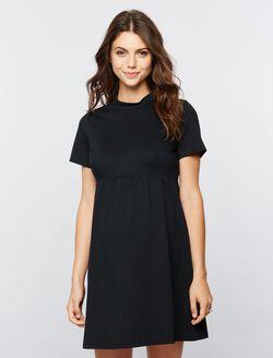 Seraphine Acadia Babydoll Maternity Dress, Black