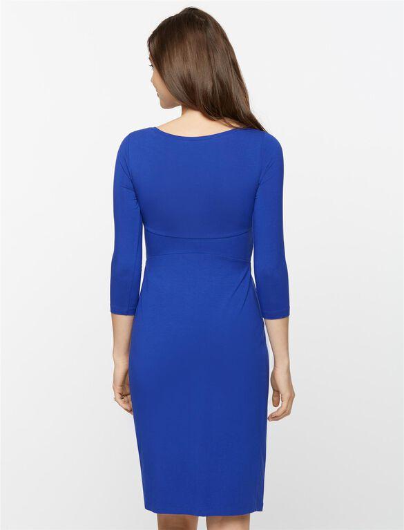 Isabella Oliver Ivybridge Maternity Dress, Sapphire Blue