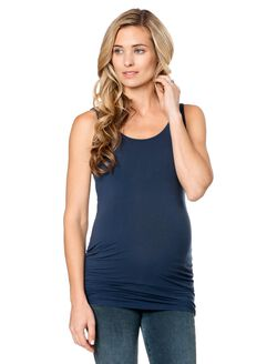 Splendid Maternity Tank Top- Solid, Navy