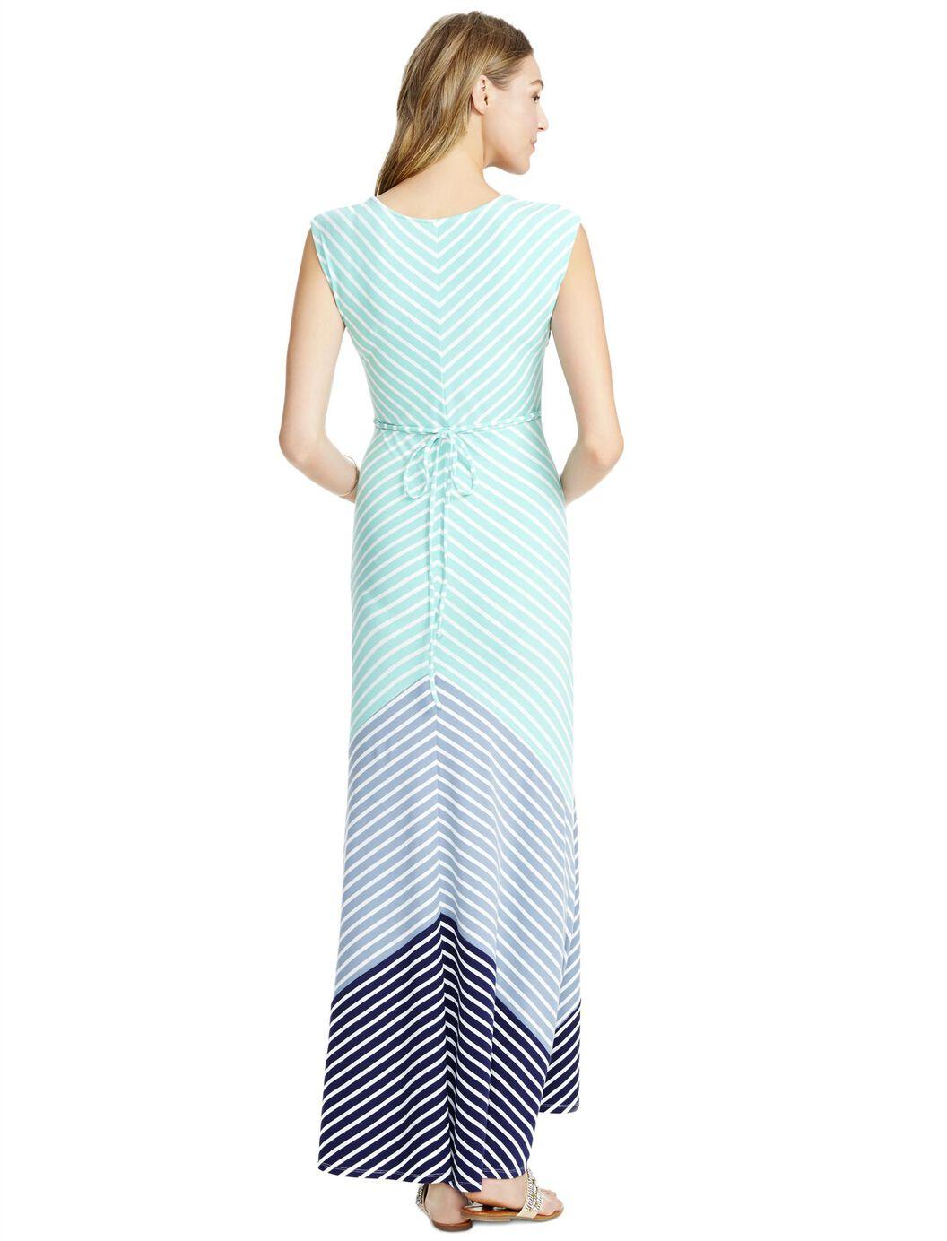 Jessica simpson bias cut maternity maxi dress motherhood jessica simpson bias cut maternity maxi dress blue stripe ombrellifo Choice Image