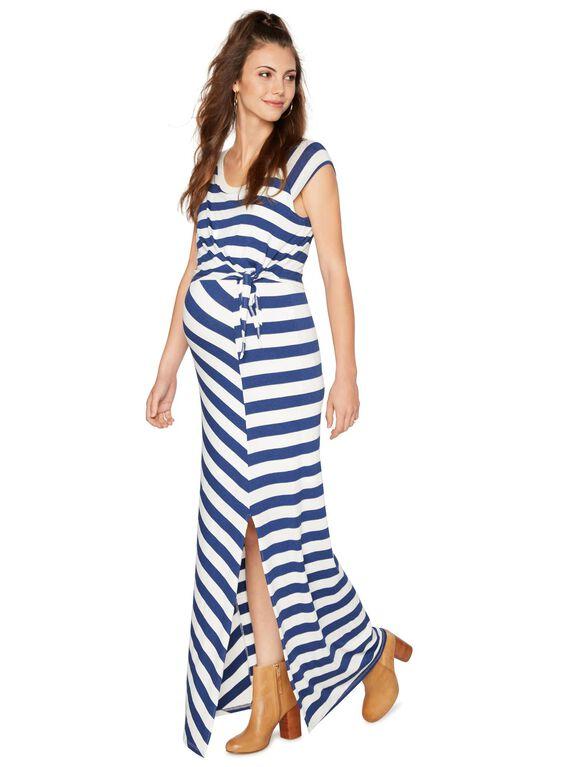 Maternity Dress, Azul