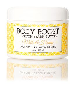 Basq Milk and Honey Stretch Mark Butter, Milk/Honey