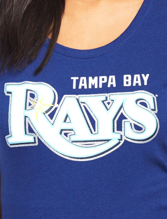 Tampa Bay Rays MLB You're Out Maternity Tee, Rays Navy