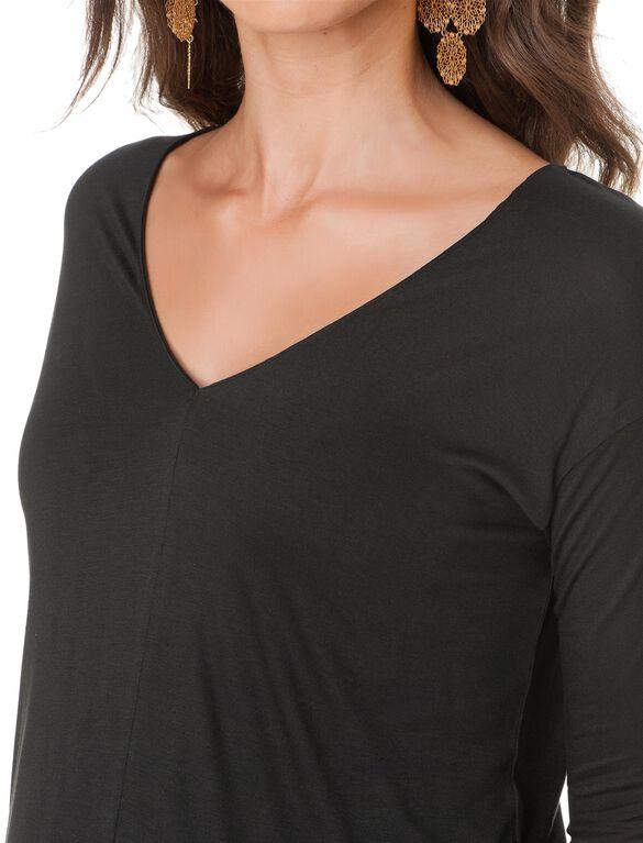 Maternity T Shirt, Black