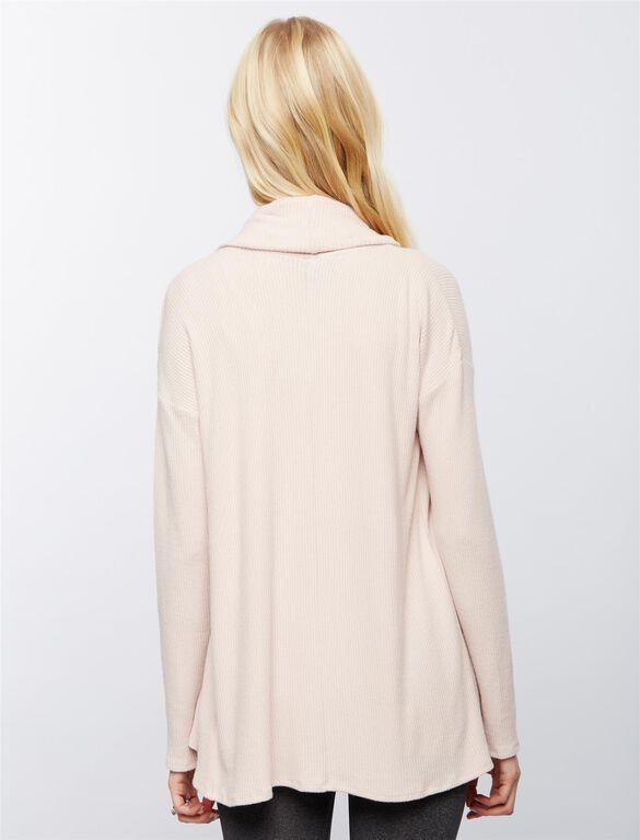 Super Soft Maternity Cardigan, Antique Blush
