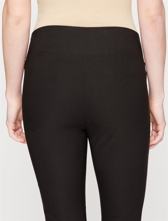 Under Belly Tech Twill Maternity Leggings, Black