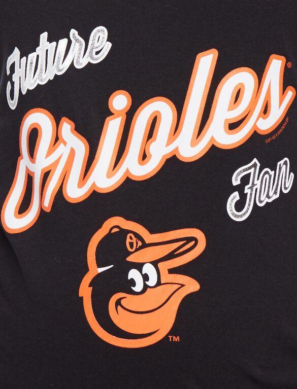 Baltimore Orioles MLB Future Fan Maternity Tank, Orioles Black