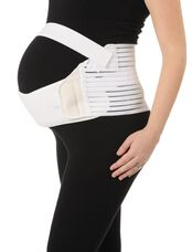 Maternity Support Belt, White