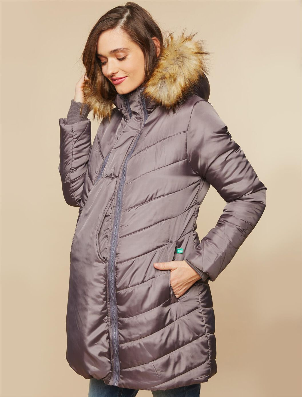 Modern Eternity 3 in 1 Maternity Coat at Motherhood Maternity in Victor, NY | Tuggl
