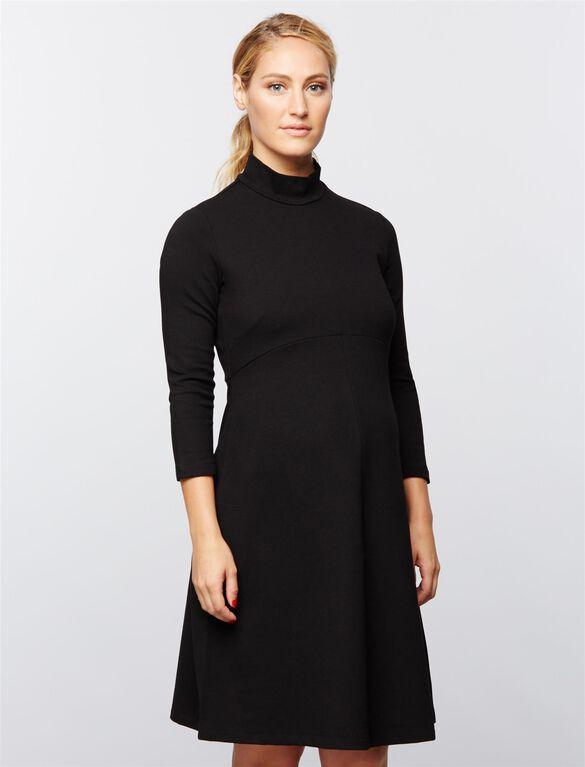 Isabella Oliver Kennett Maternity Dress, Black