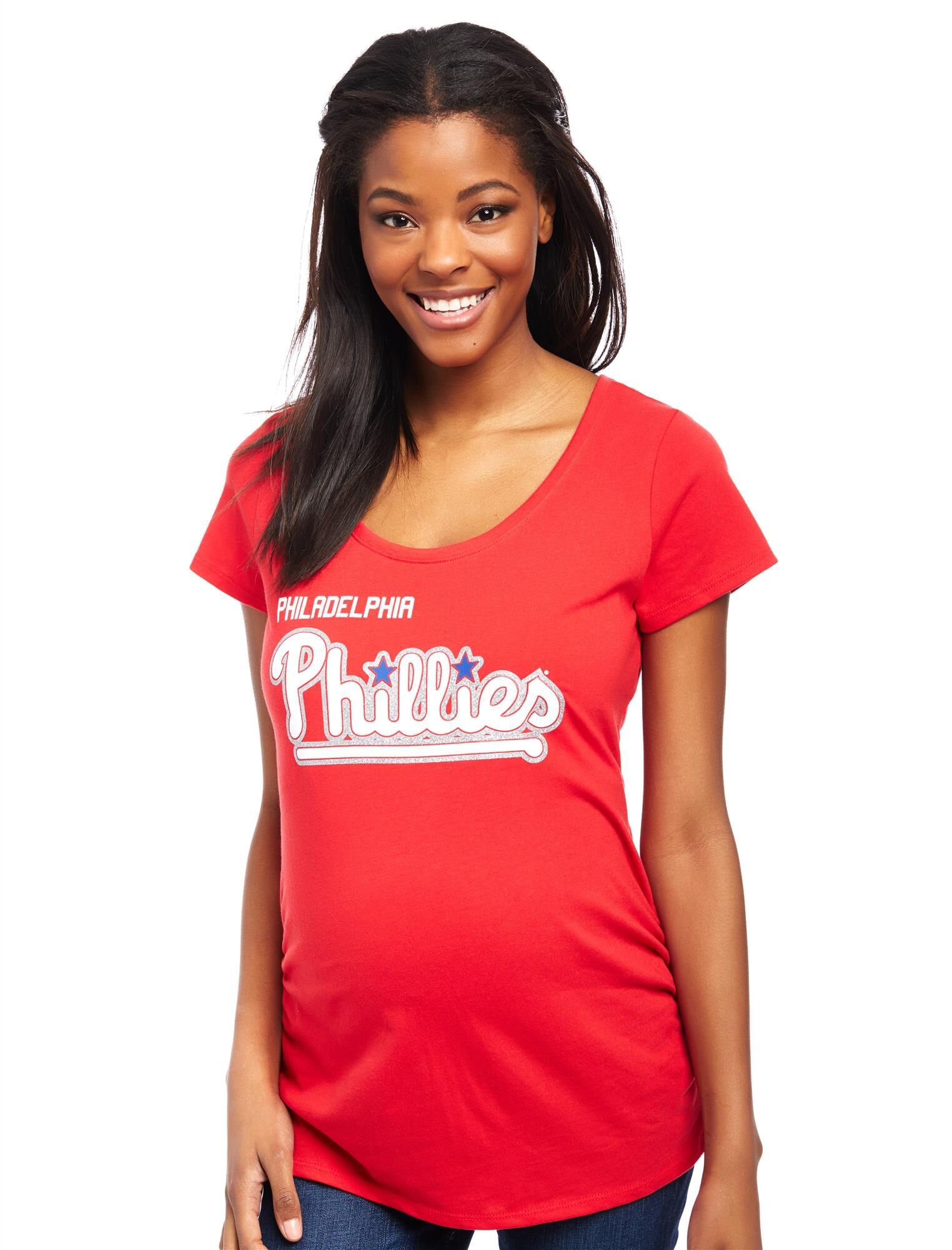 Philadelphia Phillies MLB You're Out Maternity Tee