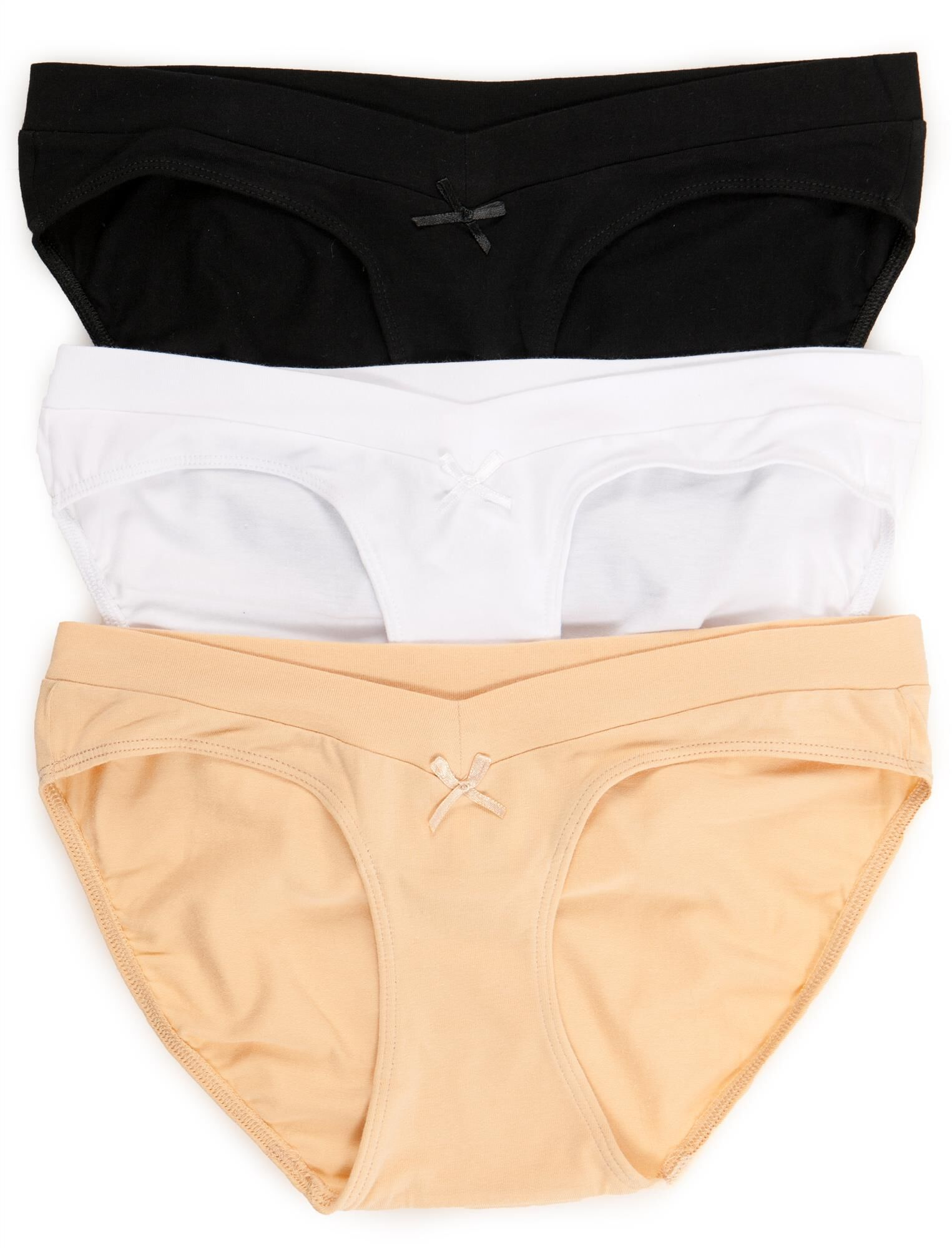 Maternity Hipster Panties (3 Pack)- Neutrals
