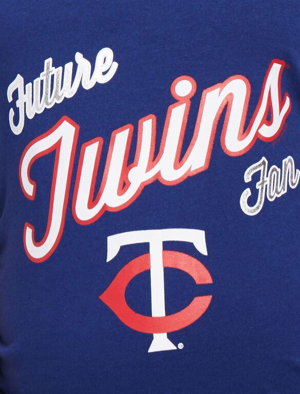 Minnesota Twins MLB Future Fan Maternity Tank, Twins Navy