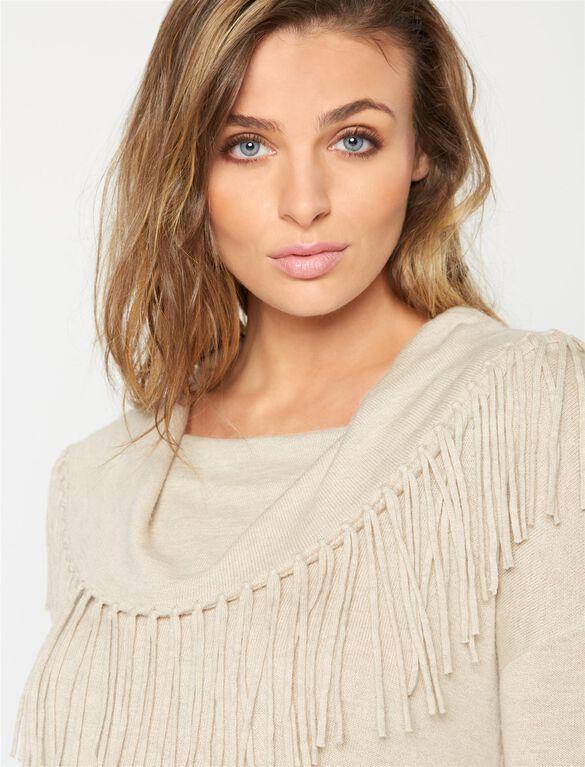Ella Moss Maternity Sweater, Oatmeal