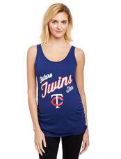 Minnesota Twins MLB Future Fan Maternity Tank, Twins Navy